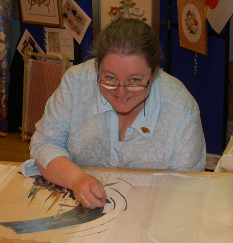 Japanese embroiderer Jane Smith