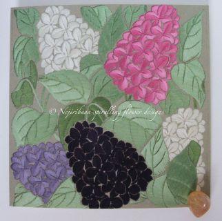 Cards - original embroideries
